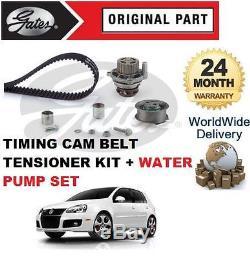 Pour Volkswagen VW Golf 2.0 Gti 2006-2008 Tendeur Courroie de Distribution Kit +