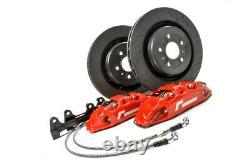 Racingline Performance 345mm 4 Pot Stage 2 Frein Kit Pour VW Golf MK7 Gti / R
