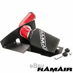 Ramair Cône Air Filtre Admission Kit en Rouge 2.0 TSI TFSI Gti MK6 Fr Vrs