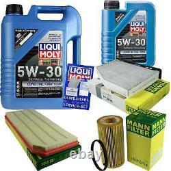 Révision Filtre LIQUI MOLY Huile 6L 5W-30 Pour VW Golf VI 5K1 2.0 de Gti