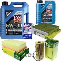 Révision Filtre LIQUI MOLY Huile 6L 5W-30 Pour VW Golf VII 5G1 BE1 2.0 de Gti