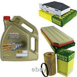 SKETCH D'INSPECTION FILTRE CASTROL 5 L ÖL 5W30 pour VW Golf VI 5K1 2.0 GTI