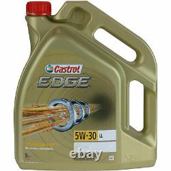 SKETCH D'INSPECTION FILTRE HUILE DE CASTROL 6L 5W30 pour VW Golf V 1K1 2.0 GTI