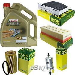 Sketch D'Inspection Filtre Castrol 5L Huile 5W30 Pour VW Golf V 1K1 2.0 Gti