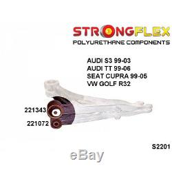 VW GTI, R32, Golf R32 4x4 kit silent bloc de suspensione avant