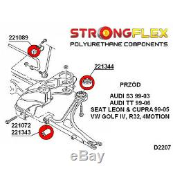 VW GTI, R32, Golf R32 4x4 kit silent bloc de suspensione avant SPORT