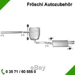 VW Golf 3 2,0i Gti Cabriolet Tuyau Silencieux Central Kit de Montage 7 #