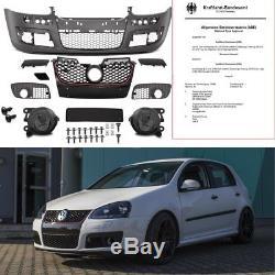 VW Golf 5 GTI Pare-choc AVANT complet +KIT Feux anti-brouillard Smoke + VIS +TÜV
