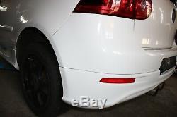 VW Golf 5 Gti R32 Pare-Chocs Arrière Échappement Conversion Kit Blanc Candy Lb9a