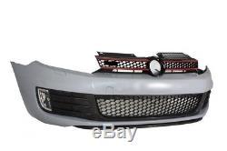 VW Golf 6 VI 08-13 Kit Carrosserie Complet Pare-chocs+Jupes latérales GTI Look