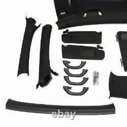 VW Golf 6 VI Gti Habillage de Toit Kit Noir Toit Ciel ESD 3-Türer
