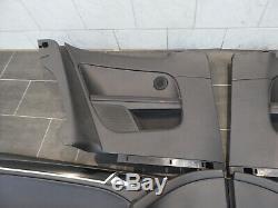 VW Golf 6 VI Gti Panneau Portières Cuir Porte Carton Noir Kit 3 Portes Top État