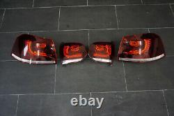 VW Golf 6 VI R LED Feux Arrière Feu Arrière Kit Rouge Cerise Hella Gti Cabriolet