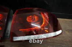 VW Golf 6 VI R Original LED Feux Arrière Feu Kit Rouge Cerise Hella Gti GTD