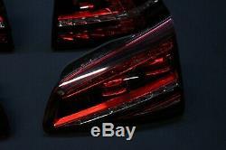 VW Golf 7 5G GTD Gîte Gti LED Feux Arrière Foncé Kit 5G0945207
