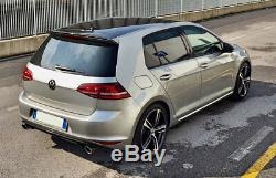 VW Golf 7 Gti Look Kit Spoiler Pare-Chocs avec Double Échappement Sport Ulter ou