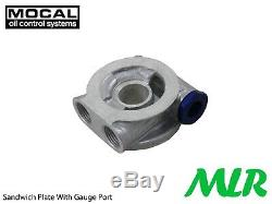 VW Golf MK4 MK5 Gti 1.8 20V Turbo Mocal 1/2BSP Huile Refroidisseur Kit ZO1-3 /