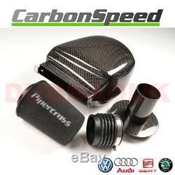 VW Golf MK6 2.0 Gti Carbone Air Boite Admission Kit + Pipercross Filtre