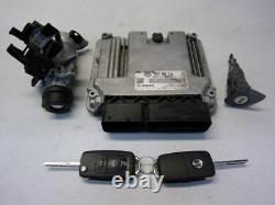 VW Golf VI 6 Cabriolet Gti (517) 2.0 TSI Commande Moteur 5K7907115 0261S07671