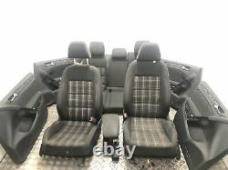 VW Golf VI Gti Intérieur Tissu Siège Avec Porte Cartes Kit Demi Électrique LHD