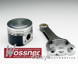 Wossner Forgé Pistons + PEC Bielle Kit Pour Volkswagen Golf MK5 Gti ED30 2.0TFSI